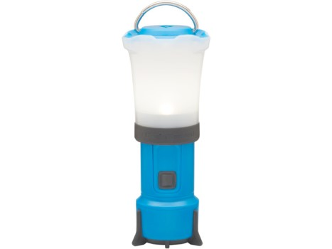 Campinglamp black diamond blauw